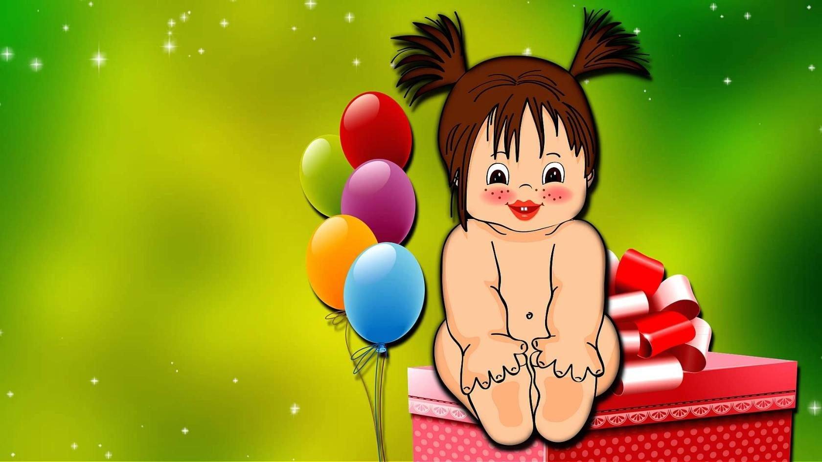 Клип Поздравление Ребенка С Днем Рождения